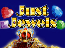 Just Jewels на зеркале клуба