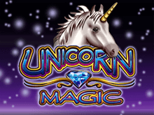 Unicorn Magic на зеркале клуба